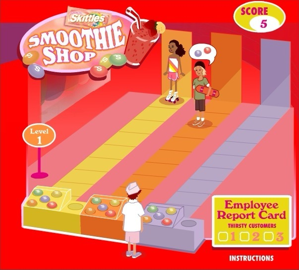 Skittles: Smoothie Shop