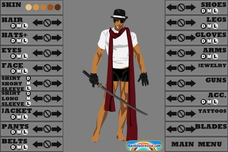 Action Hero Creator Game