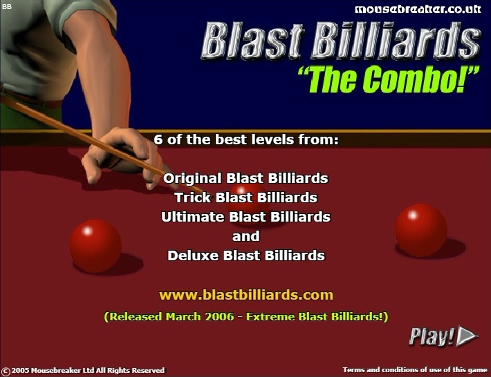 Play Blast Billiards Game Full Screen