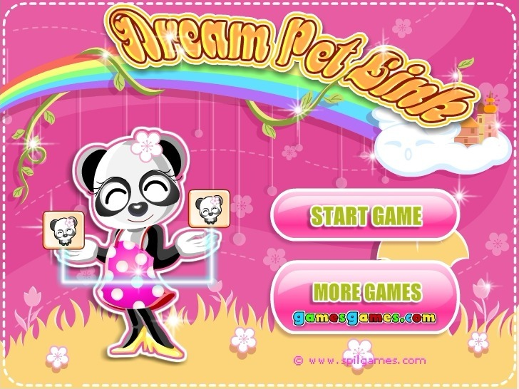 Play Dream Pet Link Game Full Screen