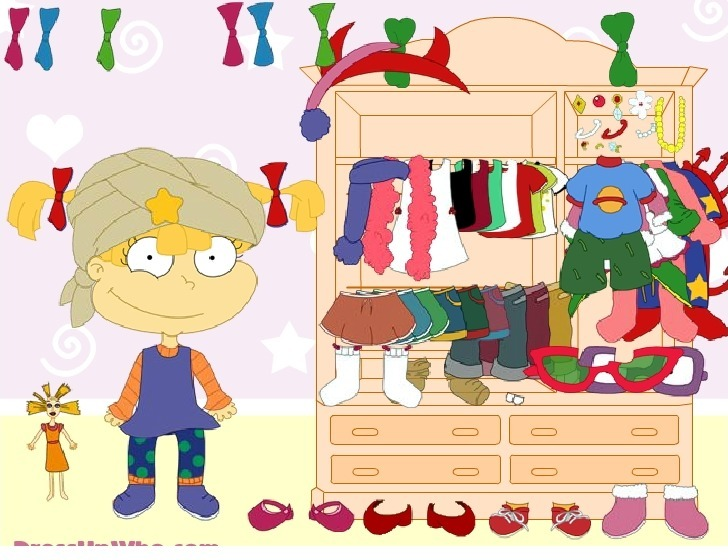Play Dress up Angelica from Rugrats