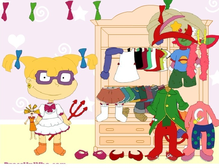 Dress up Angelica from Rugrats Full Screen
