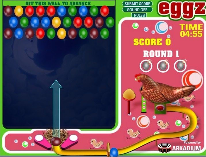 Play Eggz Game Full Screen
