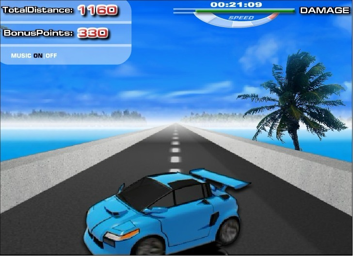 Extreme Racing 2 Full Screen