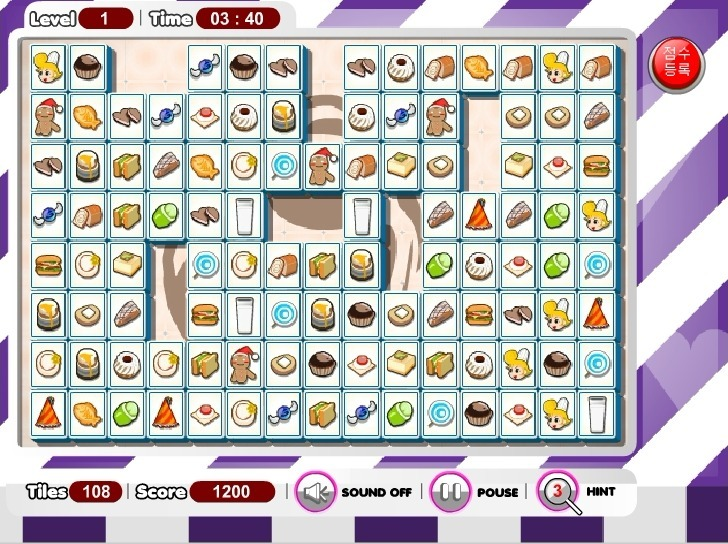 Food Mahjong Game