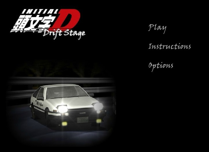 Play Initial D: Drift Stage Game Full Screen