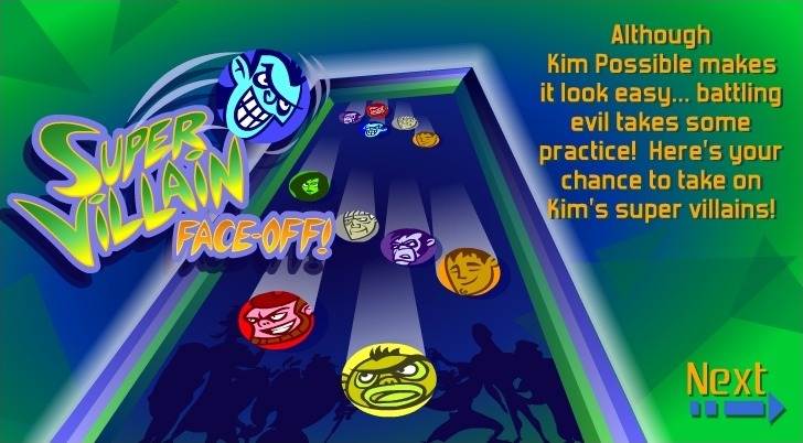 Play Kim Possible: Super Villain Face-Off Game Full Screen