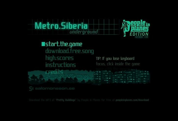 Play Metro Siberia 2 Game Full Screen