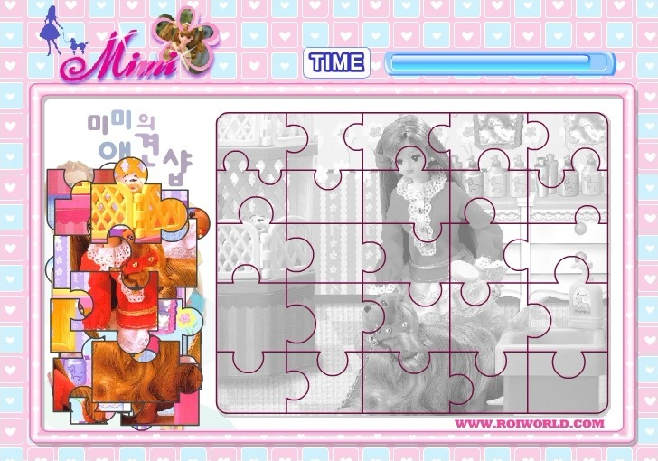 Play Mimi Barbie Puzzle 2