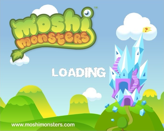Play Moshi Monsters Puzzle Palace Game Full Screen