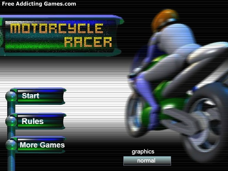 Play Motorcycle Racer Game Full Screen