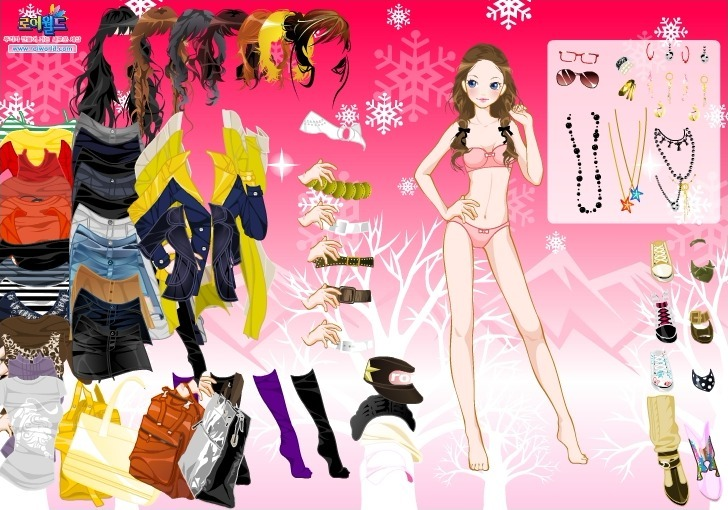 Play Mountain Dress Up Game Full Screen