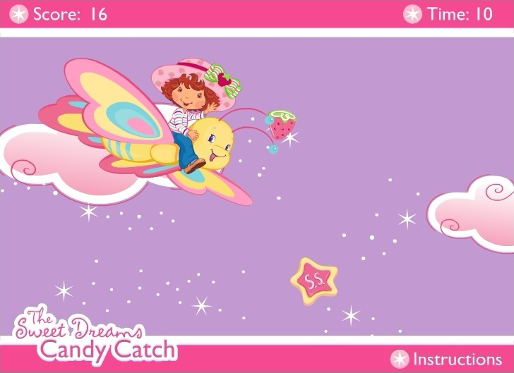Strawberry Shortcake: The Sweet Dreams Candy Catch