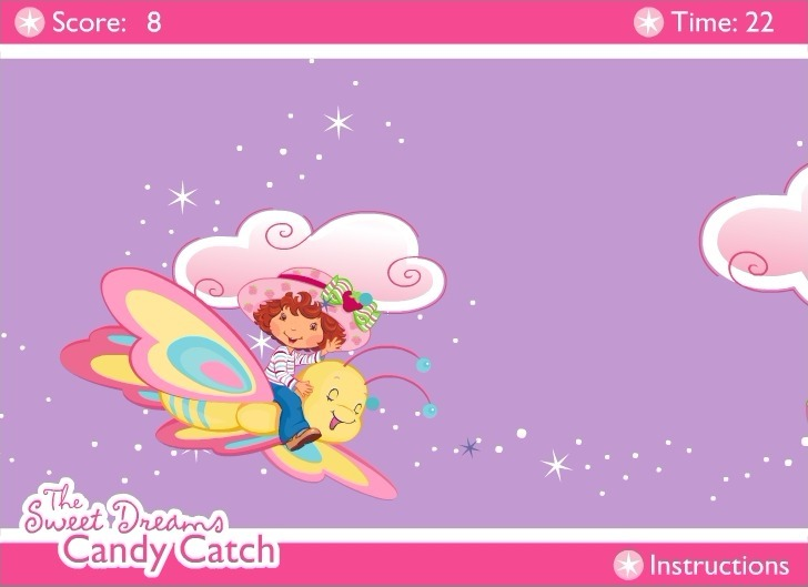 Strawberry Shortcake: The Sweet Dreams Candy Catch Game