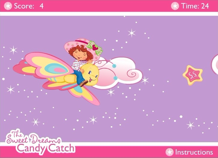 Strawberry Shortcake: The Sweet Dreams Candy Catch Full Screen