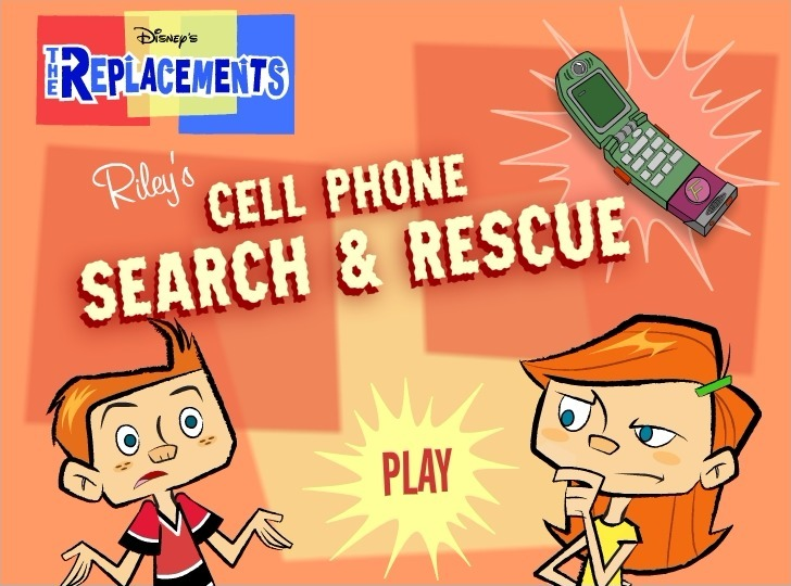 Play The Replacements: Riley's Cellphone Sear Game Full Screen