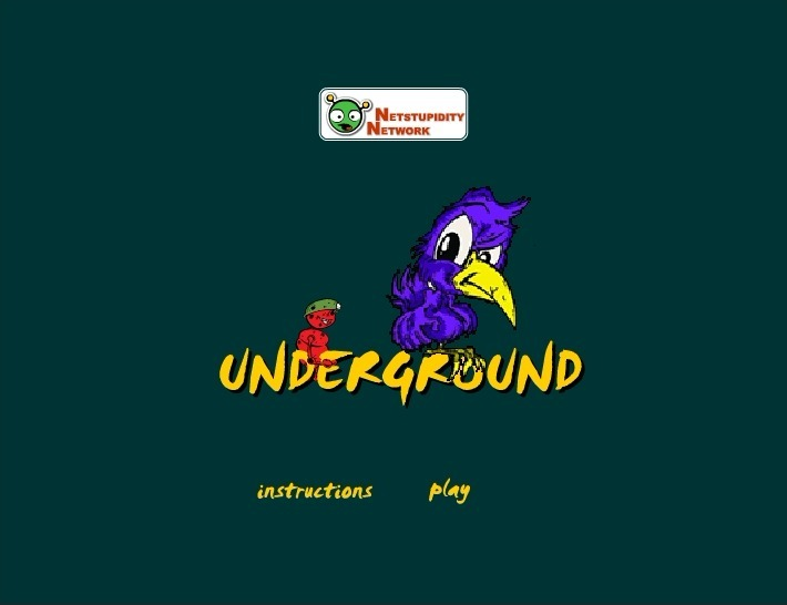 Play Underground Game Full Screen