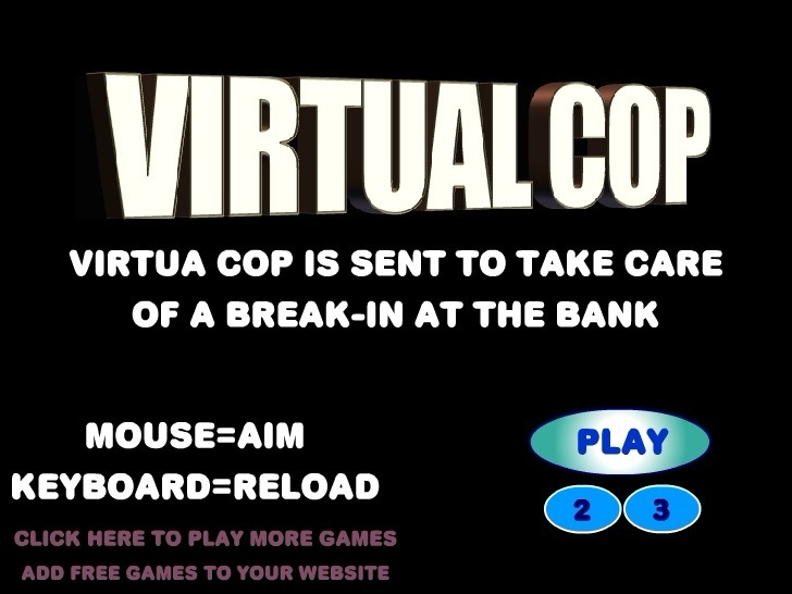 Play Virtua Cop Game Full Screen