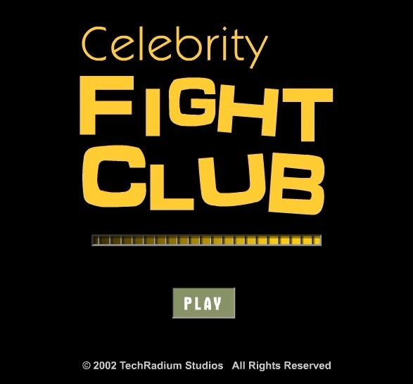 Play Celebrity Fight Club Game Full Screen