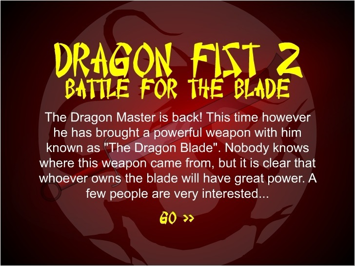 Play Dragon Fist 2 – Battle for the Blade Game Full Screen