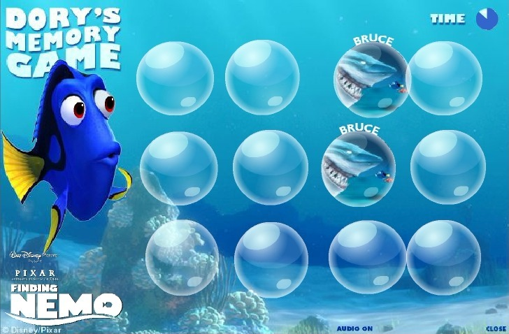 Play Finding Nemo (Memory)