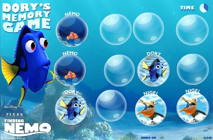 Finding Nemo (Memory) Full Screen