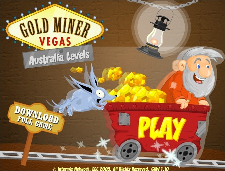 Play Gold Miner Vegas Game Full Screen