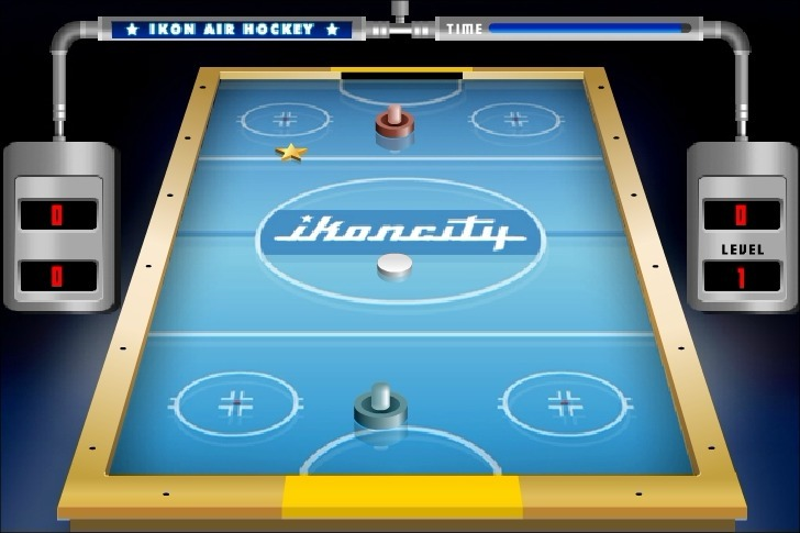 Play Ikoncity: Air Hockey