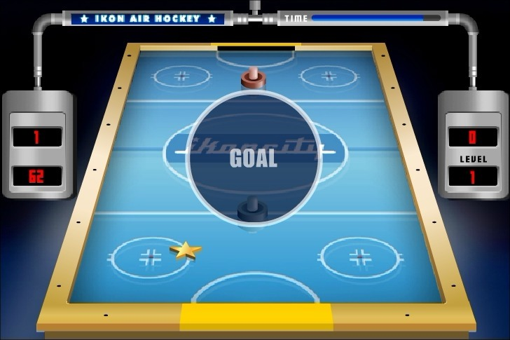 Ikoncity: Air Hockey Full Screen