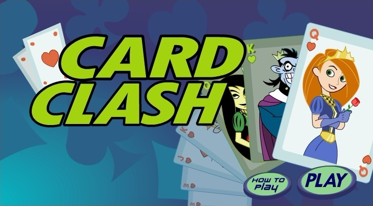 Play Kim Possible: Card Clash Game Full Screen