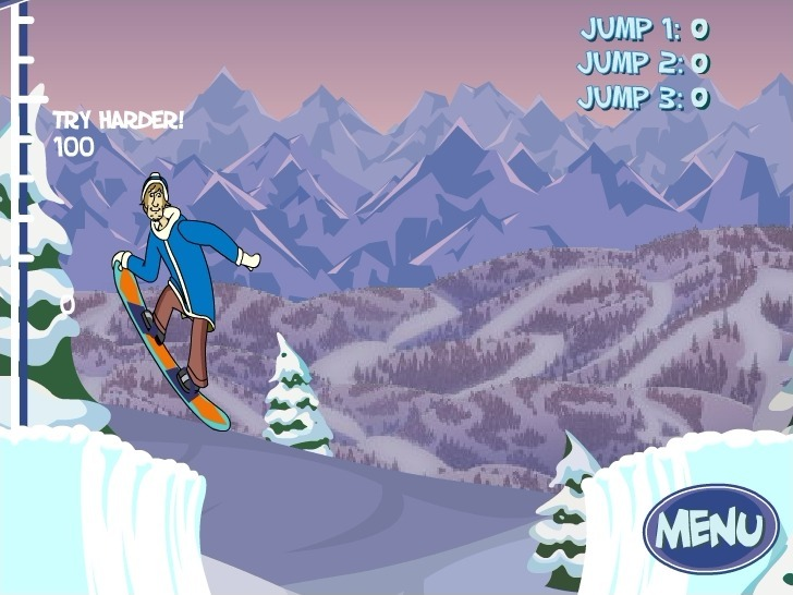 Scooby Doo: Big Air Snow Show Game