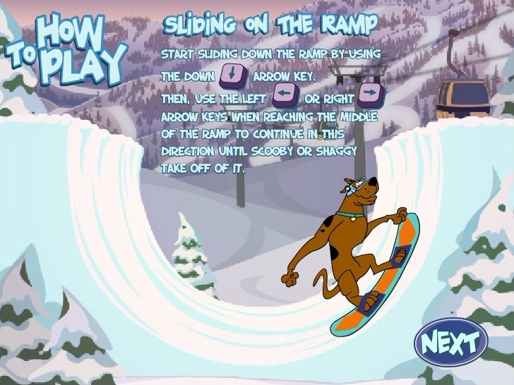 Play Scooby Doo: Big Air Snow Show