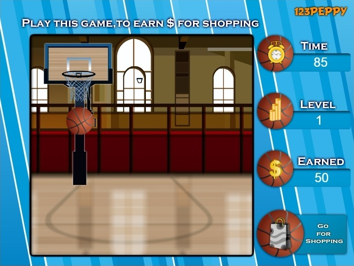 Shop N Dress Basket Ball Game: Beach Dress Game