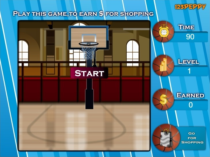 Play Shop N Dress Basket Ball Game: Beach Dress