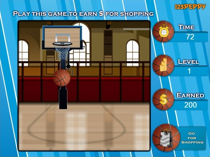 Shop N Dress Basket Ball Game: Beach Dress Full Screen