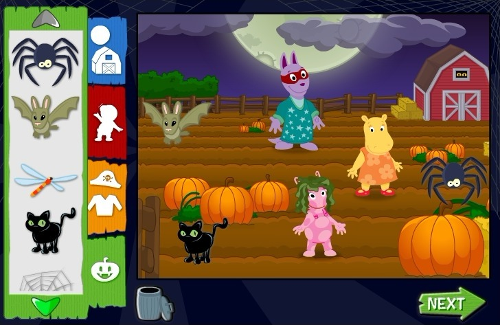 The Backyardigans: Trick or Treat with Backyadigans Game