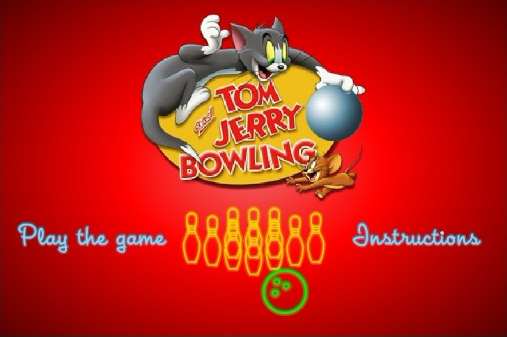 Play Tom and Jerry Bowling Game Full Screen