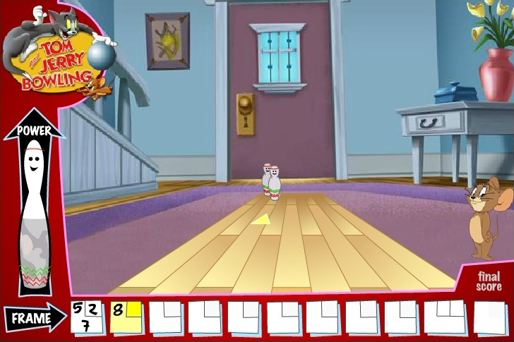 Tom and Jerry Bowling Full Screen