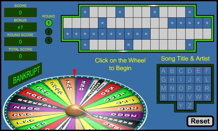 Play Wheel of Fortune Game Full Screen
