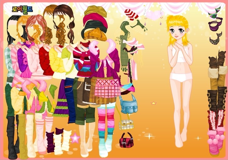 Play Wonder Dress up Game Full Screen