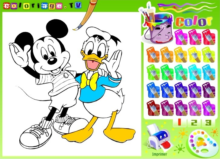 Play Disney Coloring Book
