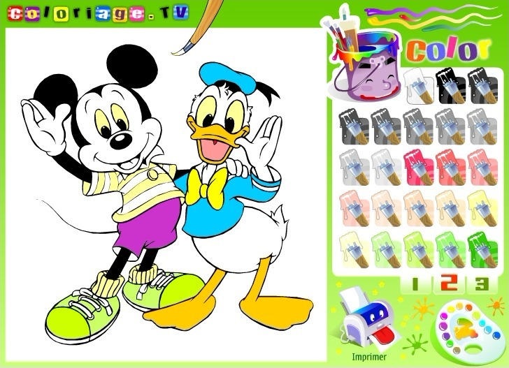 Disney Coloring Book Full Screen