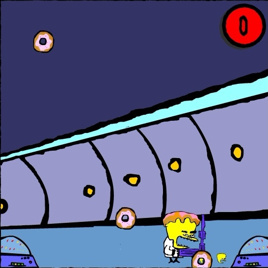 Dr. Strangegutt the Deadly Doughnuts Game