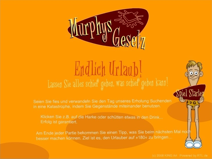 Play Murphy's Holiday Laws