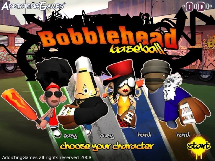 Play Bobblehead Baseball Game Full Screen