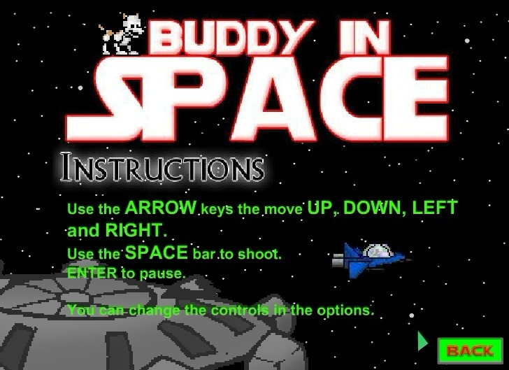 Play Buddy in Space Game Full Screen