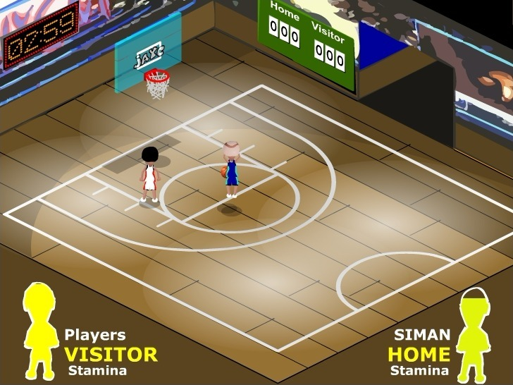 Play Hardcourt Basketball