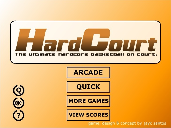 Hardcourt Basketball