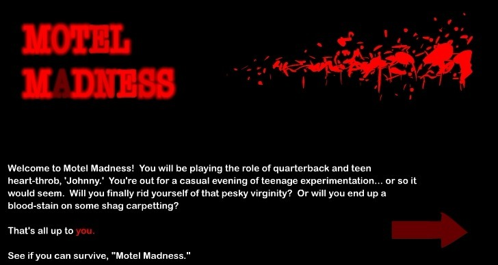 Play Motel Madness Game Full Screen