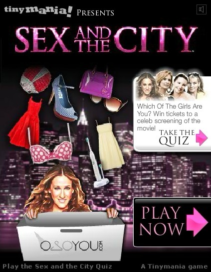 Play Sex And The City Game Full Screen